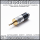 **new** Eidolic 2.5G-BC - 2.5mm 4-pole TRRS balanced connector - Blue filament carbon - for A&K - Onkyo - Cowon & more - DIY