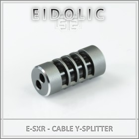 * Eidolic - E-SXR - Gunmetal cage y-splitter - includes grommet - with or without carbon fiber