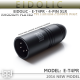 *New* - Eidolic E-T4PR - 4-pin XLR - Rhodium plated Tellurium Copper pins - lightweight black aluminum housing