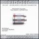 **NEW**  Eidolic - EM-CXP - Premier SHURE / MMCX - CIEM / IEM connector (pair) - Rhodium plated Tellurium Copper Pin - Teflon insulator - Internal Locking System for clean streamlined barrel
