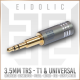 Eidolic - 3.5mm Extended for Beyerdynamic T1 & T5 Gen 2 - FAD - Focal Elear / Clear / Elex headphones (new 2018 barrel model) - DIY - sold per single unit