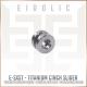 Eidolic - E-SXST - Titanium - ciem / iem - breakout / cinch slider - with internal soft ring