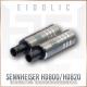 (new) Eidolic E-800SB4 - now in black and gunmetal - HD800 / HD800S / HD820 / Dharma headphone connector (pair)