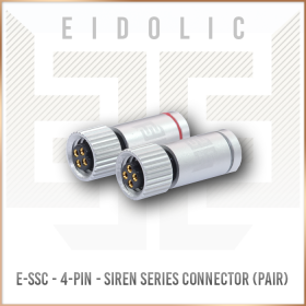 Eidolic E-SSC - 4-pin JH Series ciem / iem connectors for Siren, Layla + more (sold per pair)
