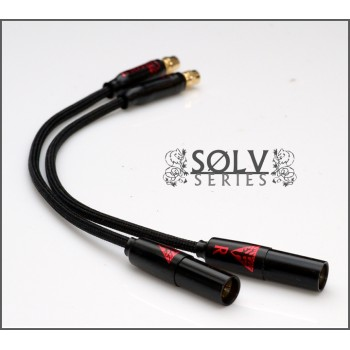 "Solv X ""Headthrone"" Adapters - One Cable to Rule them all - Headphone Cable conversion"