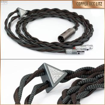 (NEW) Volsund Series - 4-wire (4 x 21awg) - Pure copper occ litz - cotton multicore - pure textile + tpu multi-conductor - headphone cable
