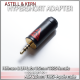 Norne Hypershort Adapter - Hifiman 3.5mm TRRS female to  Astell & Kern 2.5mm 4-pole male adapter