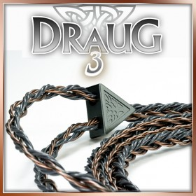 Draug 3 - 4x20awg - copper occ litz - 24-wire Tri multi-conductor - ultimate copper upgrade cable