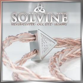 *new* Solvine Series - 4 x 18.5 awg - 16-wire - Silver occ litz / Copper occ litz - fusion / hybrid - tri-conductor & multi-core geometry - headphone cable