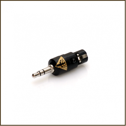 "Norne ""Direct Path"" Adapter (4-pin mini-xlr female balanced to 3.5mm male)"
