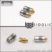 *Eidolic Shure MMCX - IEM / CIEM connectors (EM-CX, larger barrel, sold per pair)