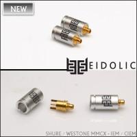 *Eidolic Shure MMCX - IEM / CIEM connectors (EM-CX, larger barrel, sold per pair)