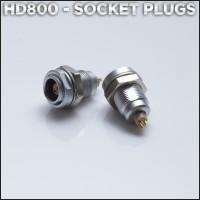 Sennheiser HD800 female socket DIY headphone cable connectors (sold per pair)