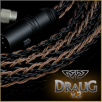 Draug 2 - 8x24awg (equivalent to 4 x 21awg, highest purity copper occ litz) - Norne Tri-conductor geometry - 24-wire, 24-core
