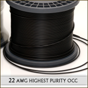 (DIY) 22awg Highest Purity OCC Cu Ultra Fine Stranded