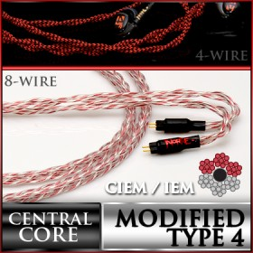 Vorpal Series Type 4 OCC Litz (4 / 8 wire) CIEM / IEM replacement cable
